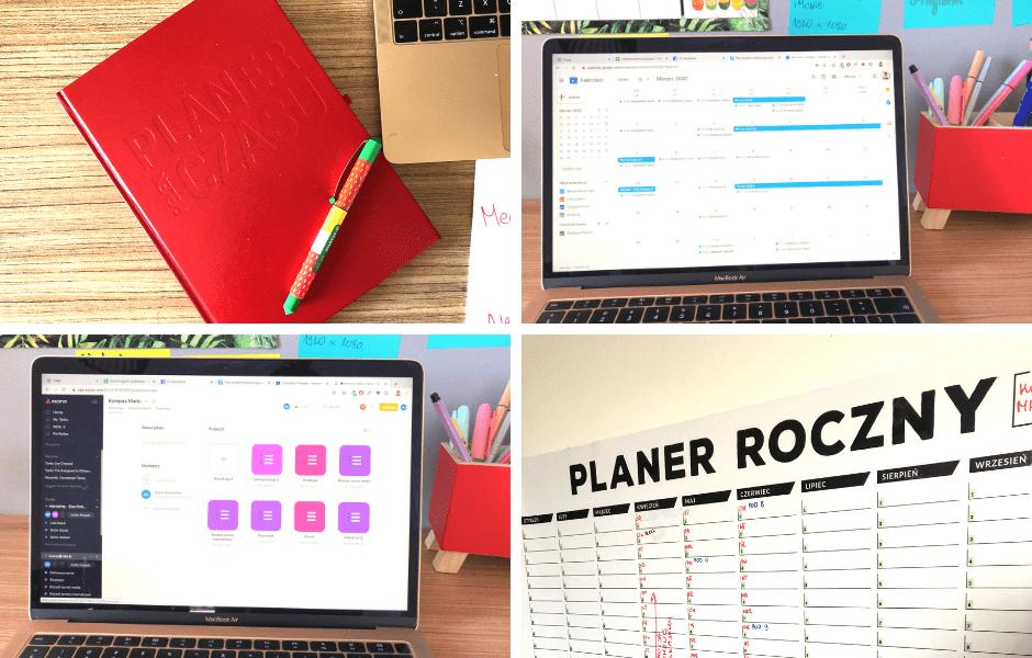 Planowanie działań marketingowych - planery
